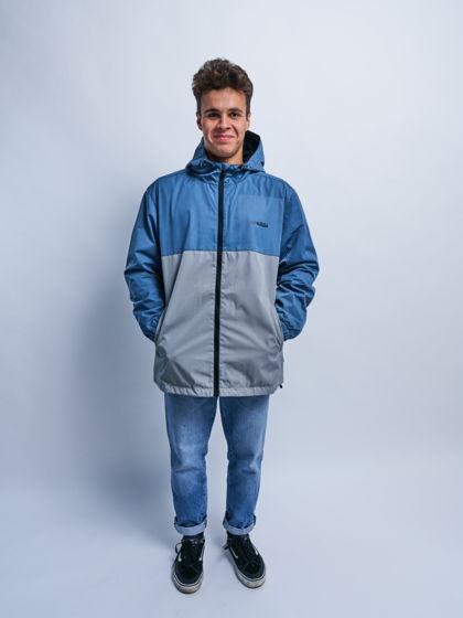 куртка «голубас с серым»