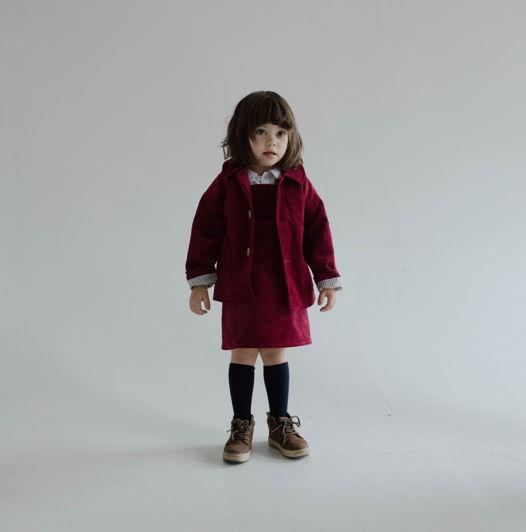 Жакет вельветовый красный