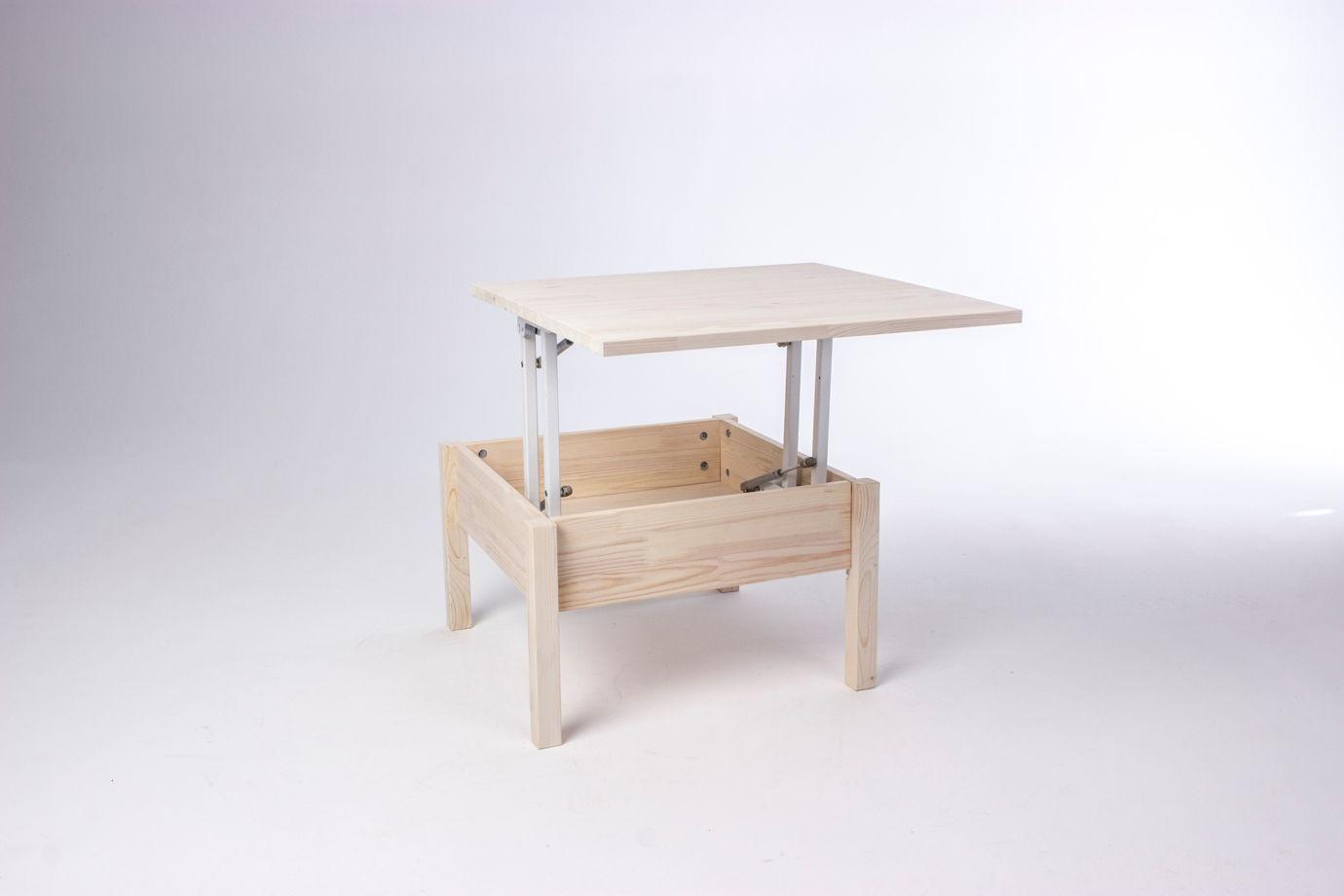 Стол трансформер из массива сосны