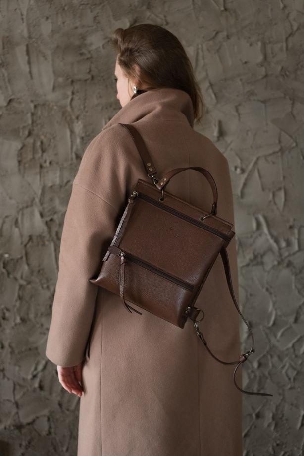 Рюкзак арт.RU3 из натуральной кожи