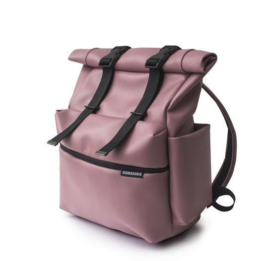 Рюкзак/роллтоп/розовый.