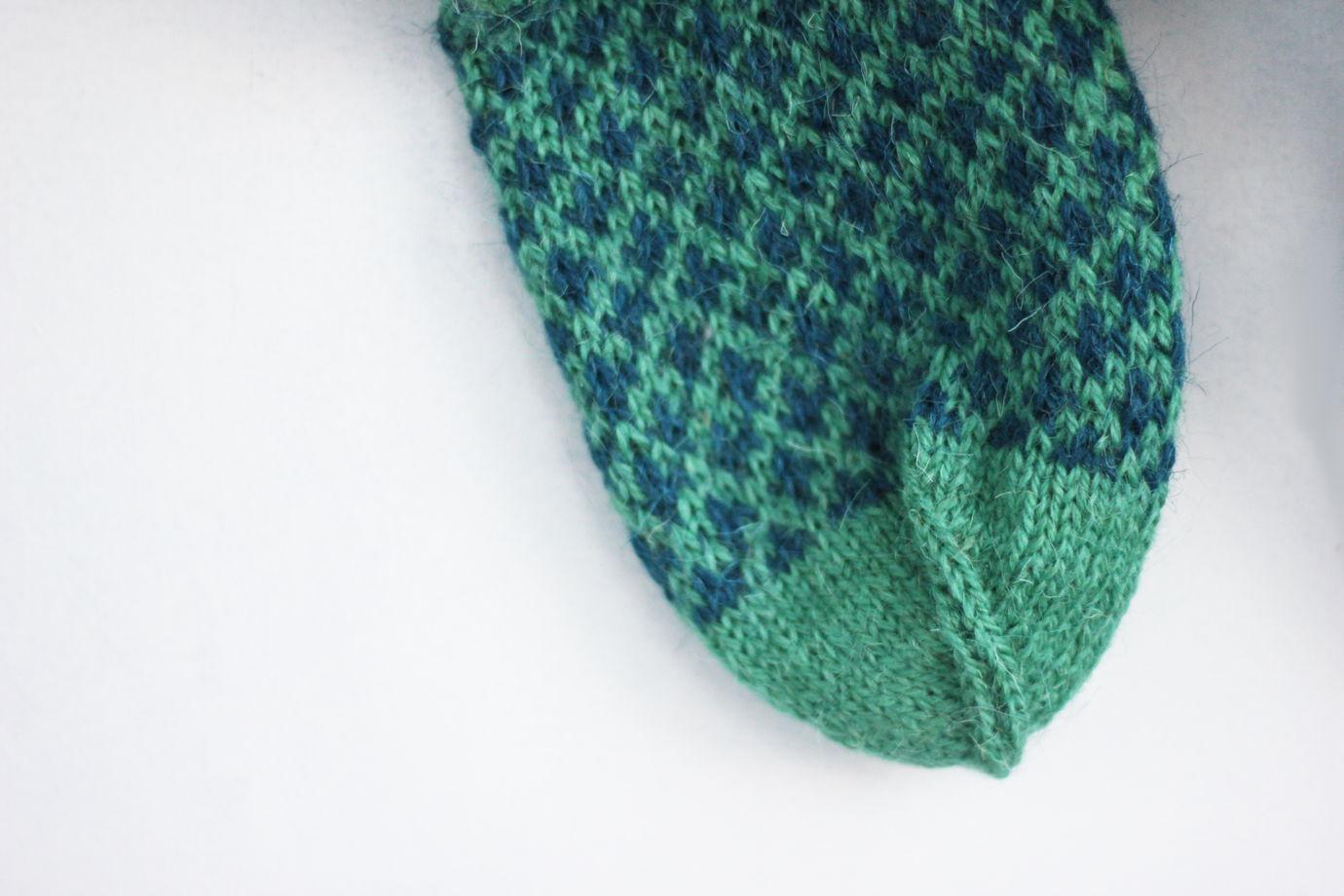 Шерстяные носки / Хвойный лес