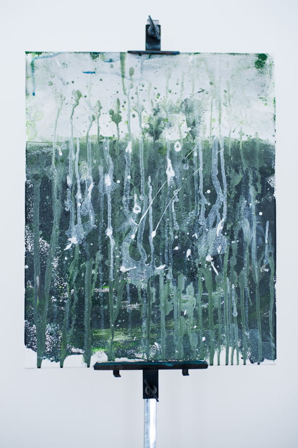 Картина 'Комета приближается 2' / 'The Comet is Coming 2' acrylic painting