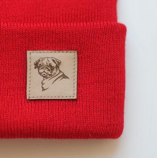 Теплая шапка МОПС. Цвета в ассортименте