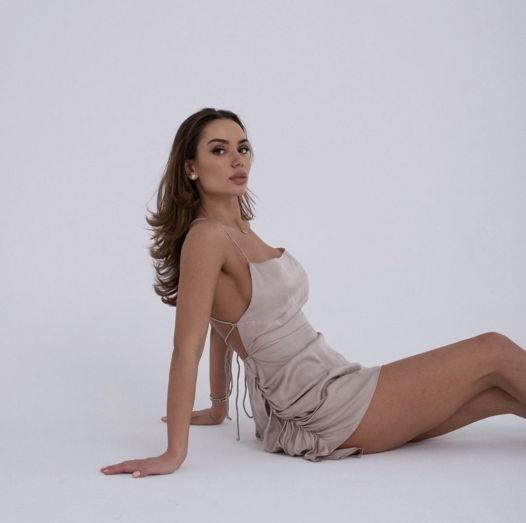 Коктейльное платье комбинация