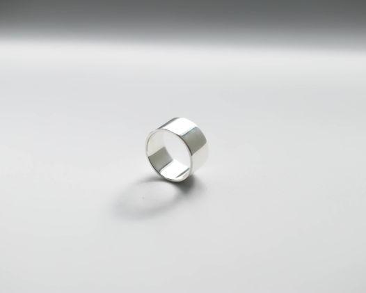 Кольцо Серебряная Шайба