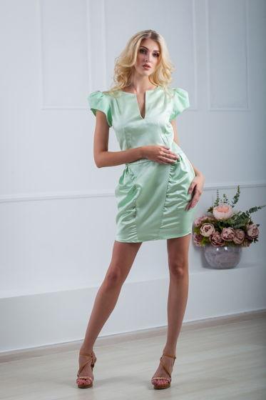 Платье нежная мята