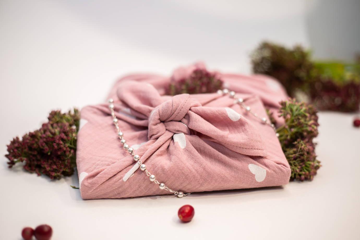 Фуросики розовый муслин в магазине «ZEROWAY» на Ламбада-маркете