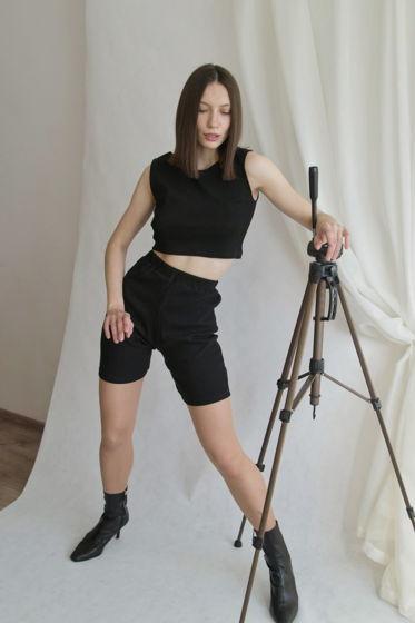 Комплект Кроп-Топ и шорты