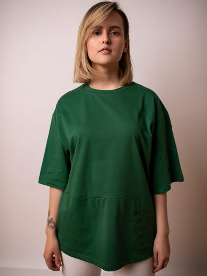 Футболка женская KIMONO (Green)