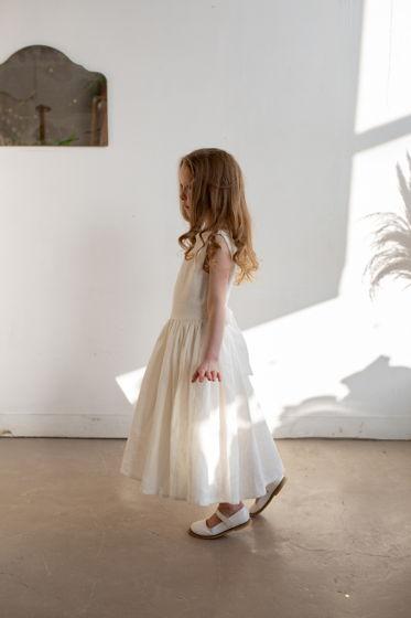 Детский сарафан с открытой спинкой ПЛОМБИР