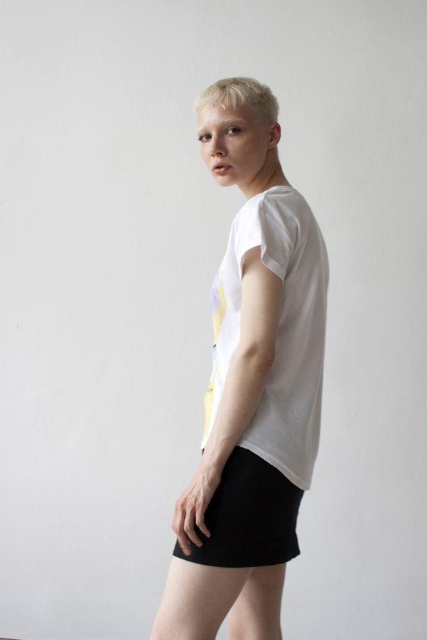"""женская футболка прямого силуэта с принтом """"ЗЕМФИРА"""""""