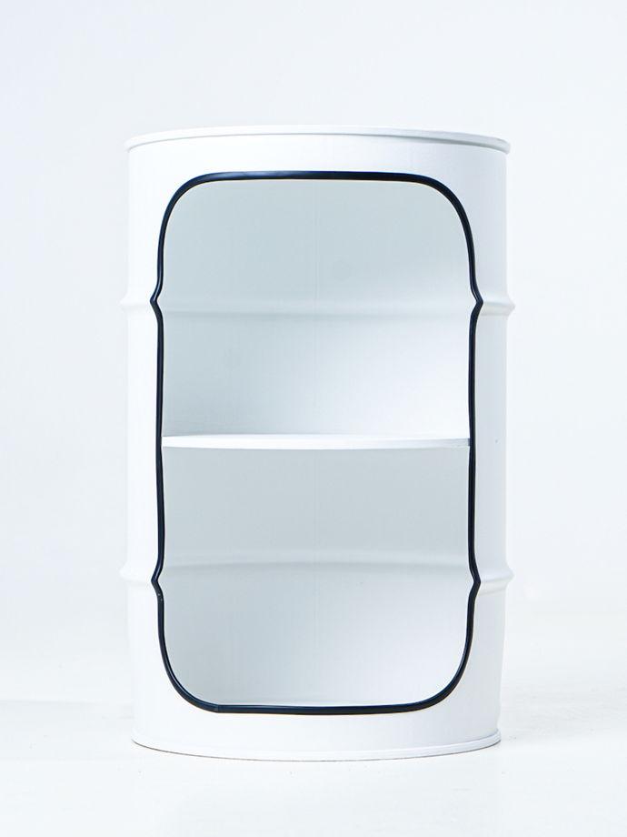 Декоративная бочка-шкаф XE WHITE