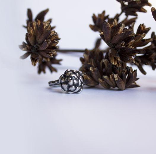Серебрянное кольцо  Cone