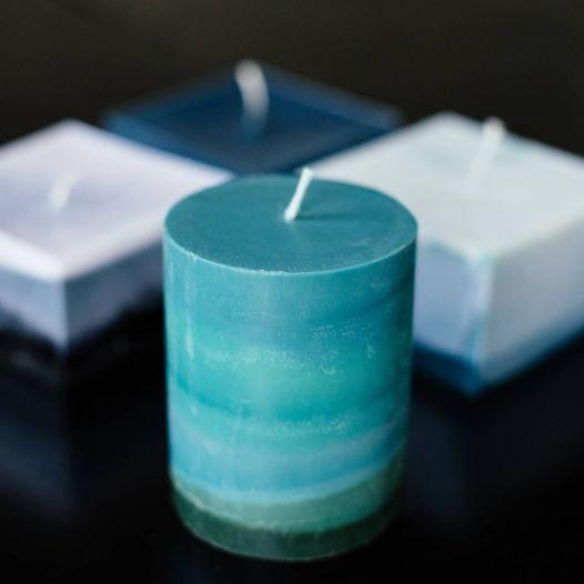 Свеча цилиндрическая ароматическая