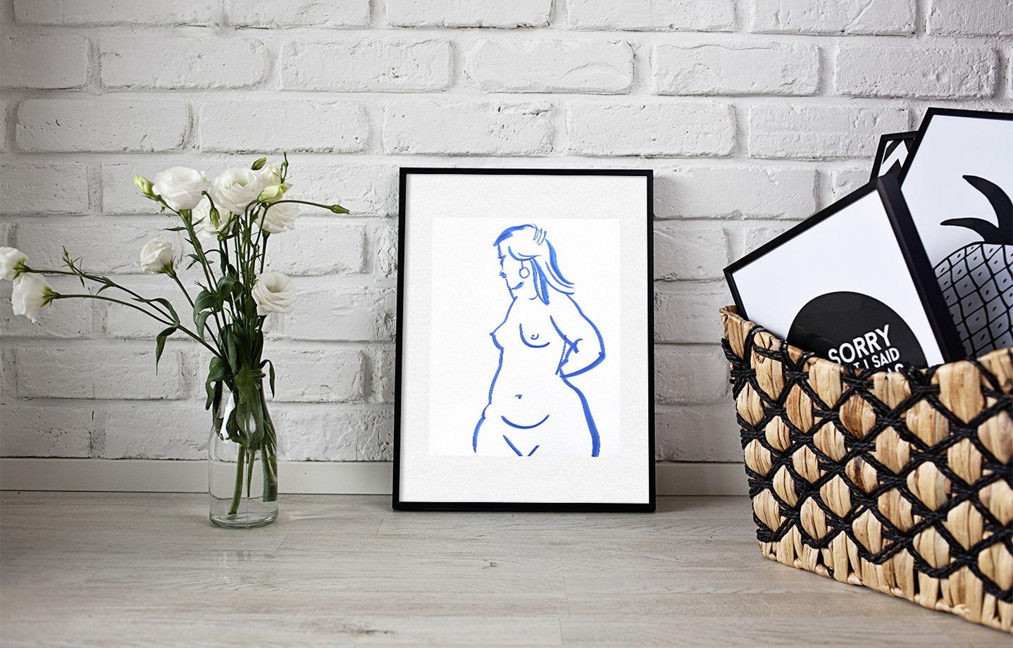 """Графика """"Дама с изюминкой"""", часть 2"""
