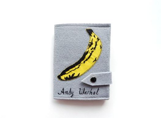 "Обложка на паспорт ""Энди Уорхол. Velvet underground"""