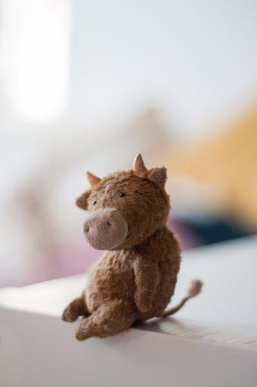Коллекционная игрушка тедди «Бычок»