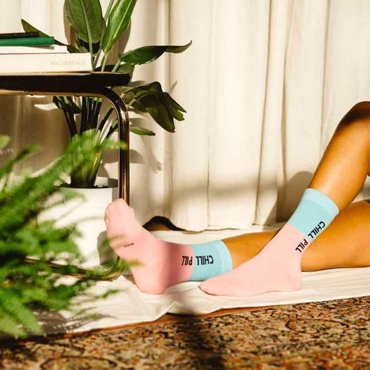 Носки в форме пилюли Носки DOIY Chill Pill Socks