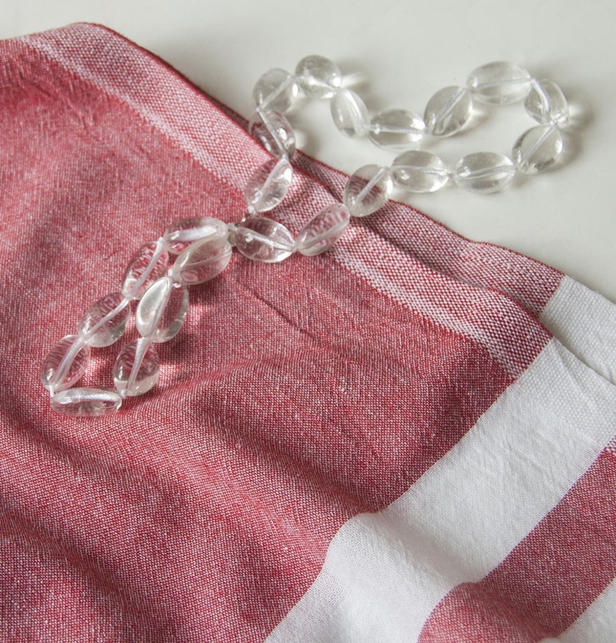 Пештемаль (турецкое полотенце из премиум-хлопка) 'С ЛЁГКИМ ПАРОМ'