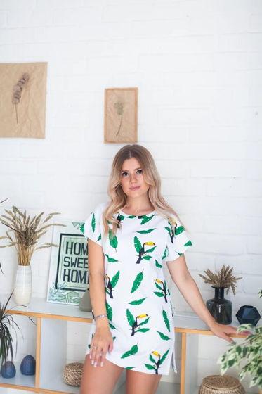 Платье-футболка из интерлока