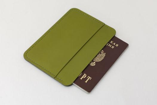 Обложка для документов | докхолдер NoFold зеленая