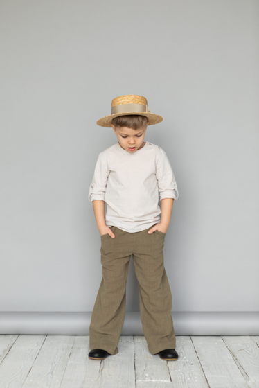 Брюки для мальчика/девочки (хаки)