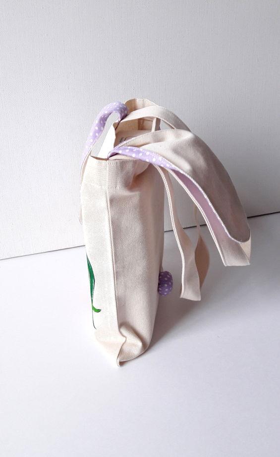 """Детская сумка зайка """"с ушками"""""""