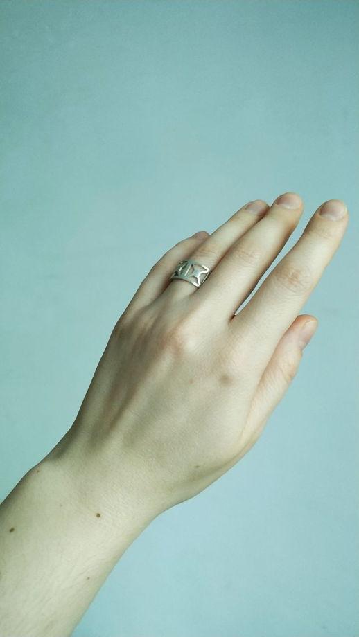 Серебряное кольцо ОГРАДА