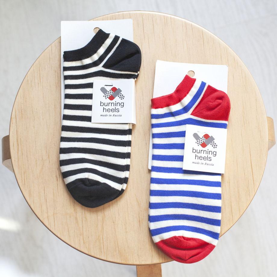 Носки Тельняшка/Striped vest короткие