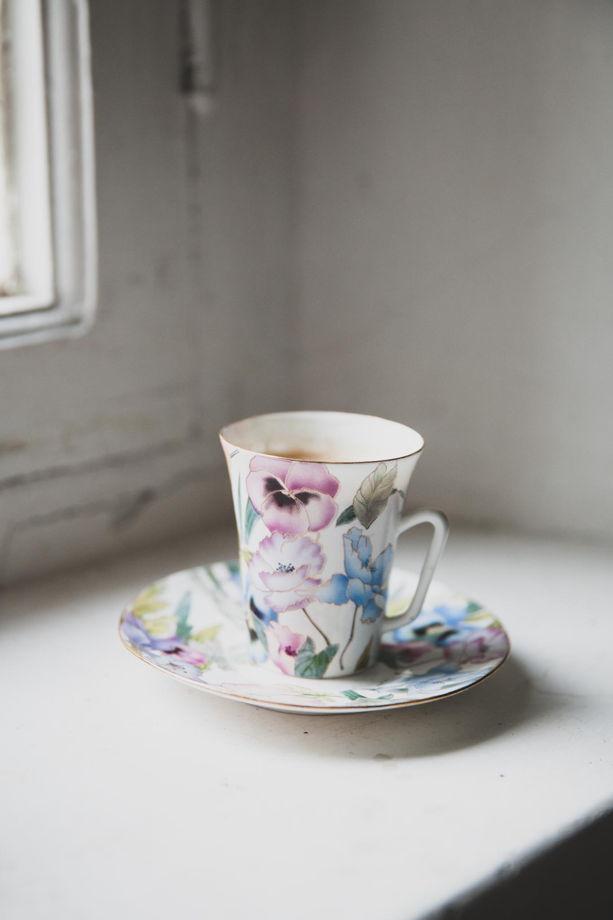 """Воздушная чайная пара """"Весна"""""""