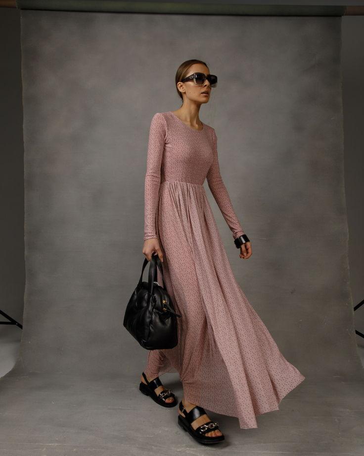 Платье сетка Fabam