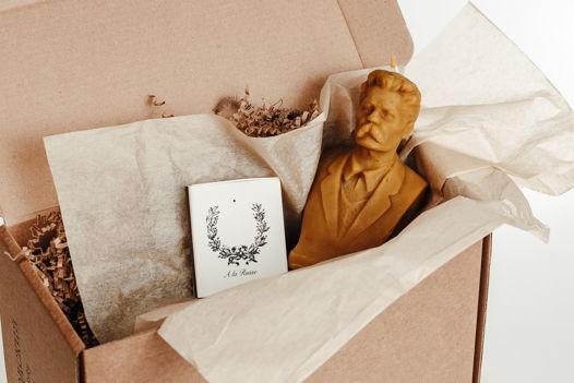 Кабинетная скульптура-свеча Максим Горький