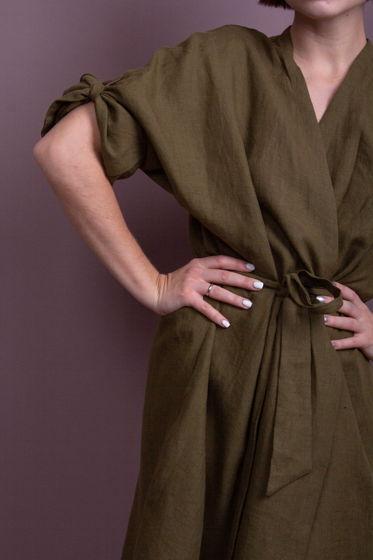 Платье-халат Сосновый Лес