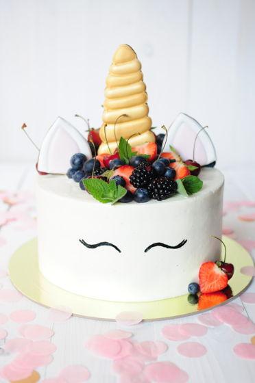 Торт Ягодный Единорог