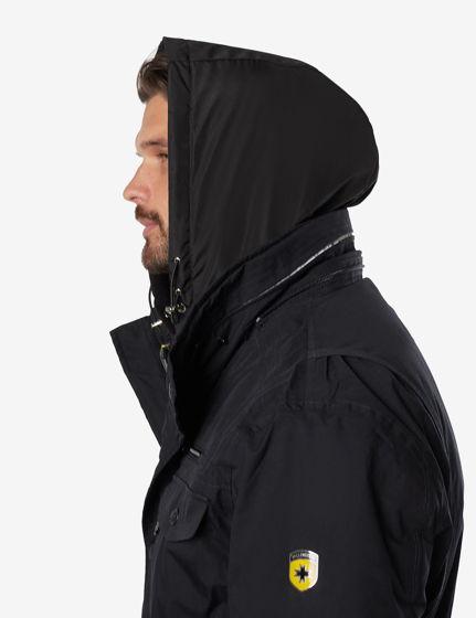 Капюшон мужской непромокаемый черный