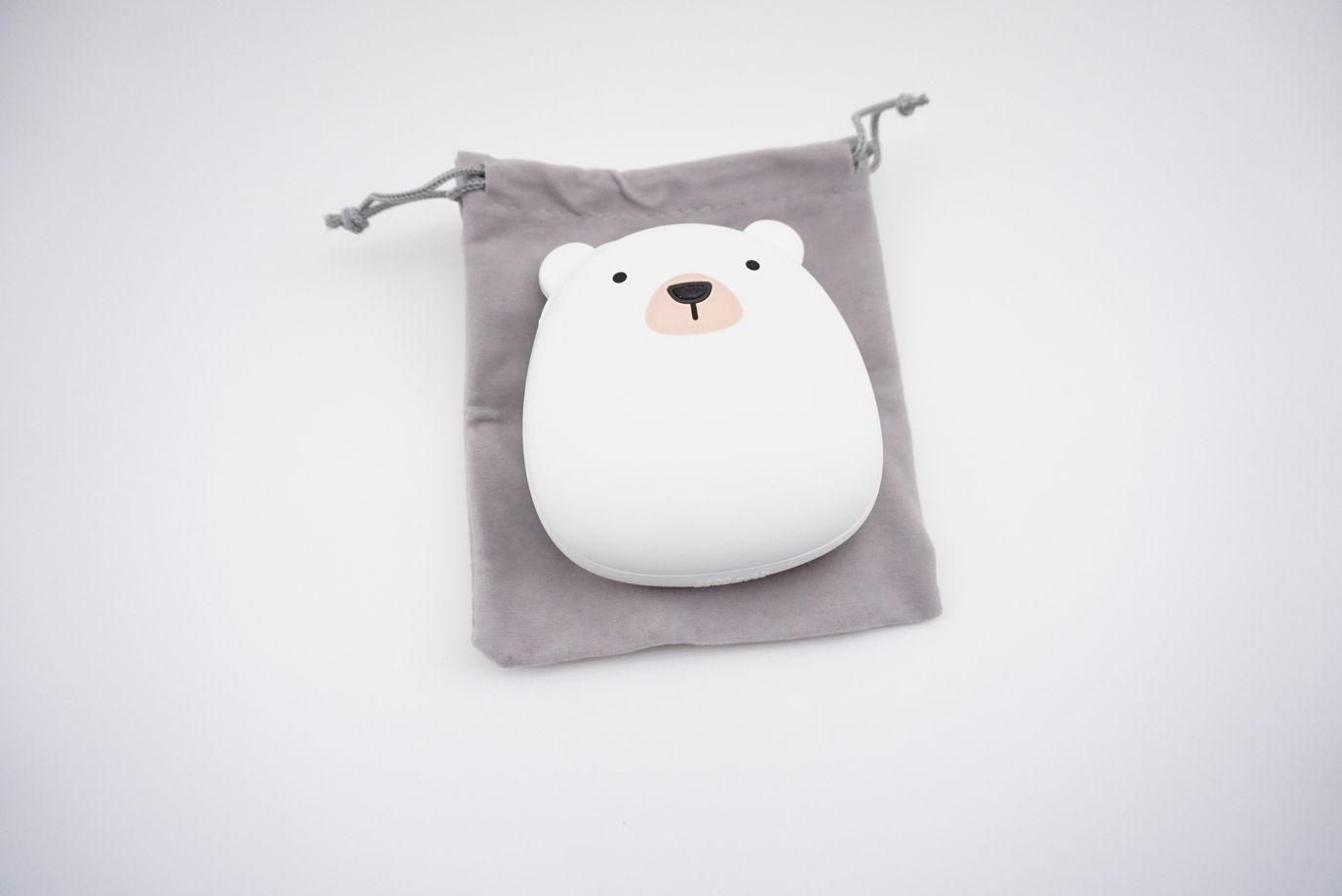 """Грелка для рук """"Белый медведь"""""""