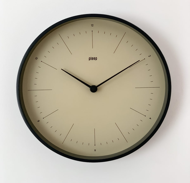 Часы деревянные настенные - JET / авторский дизайн и изготовление / Артикул: COLOR-S-11