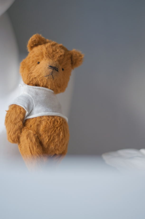 Мишка тедди Лёва, рост 14см