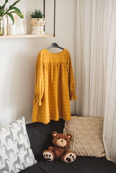 Базовое платье из теплого хлопка