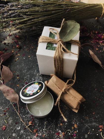 Мужской подарочный набор « Мята и бергамот»