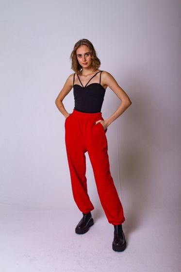 Трикотажные брюки из футера