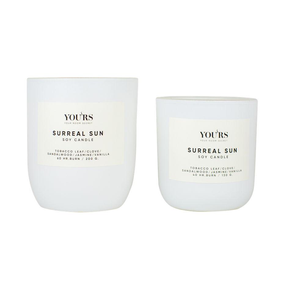 Ароматическая свеча из соевого воска Surreal Sun 130 гр
