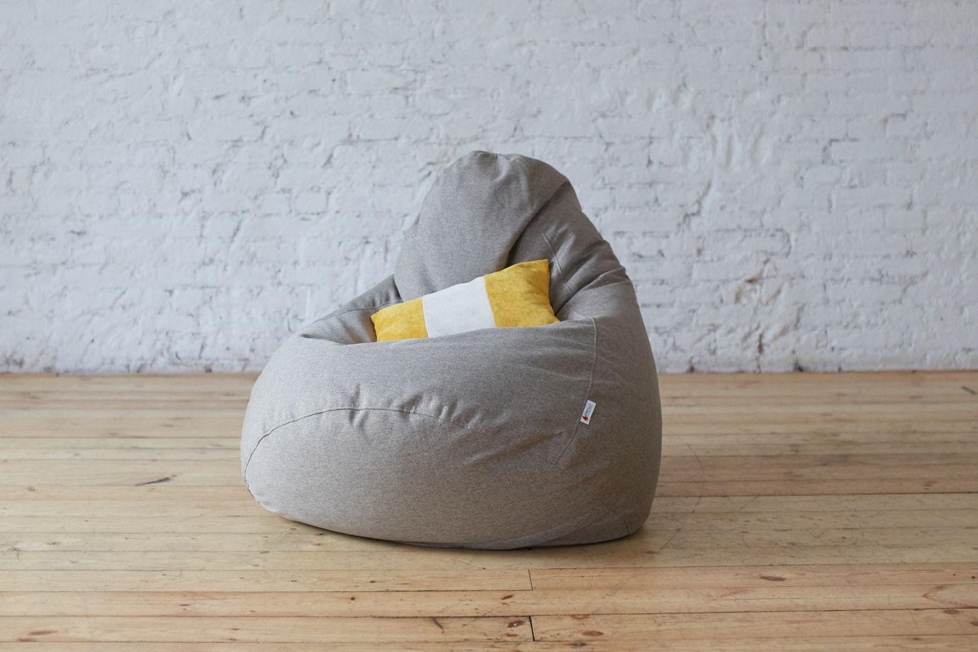 """Кресло-мешок """"Сальвадор"""" из рогожки"""