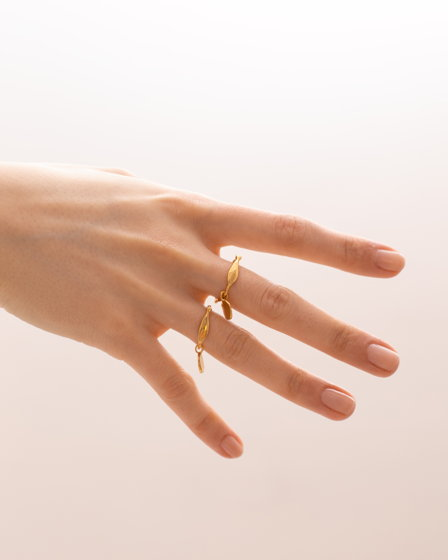 кольцо «Рыба» с монеткой