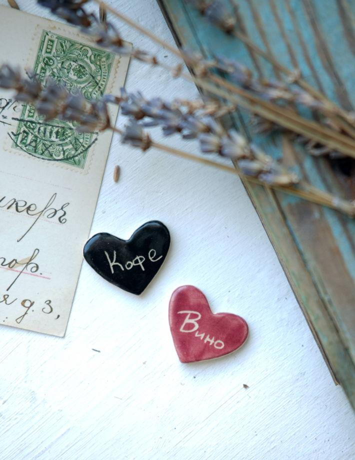 """Брошь """"Что в твоём сердце?"""""""