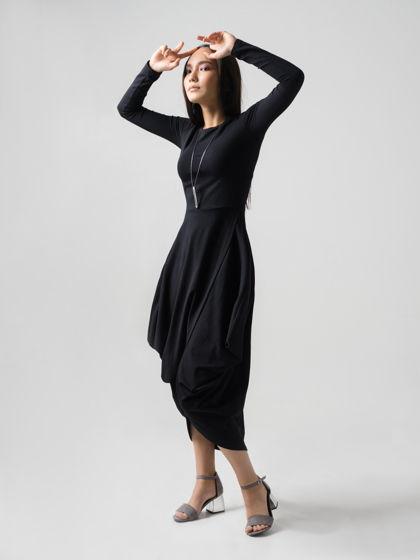 Платье Z.P. чёрное