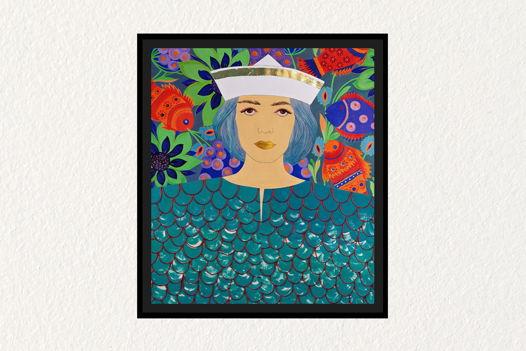 КАРТИНА «SAILOR» ИЗ СЕРИИ «MILITARY WOMEN»