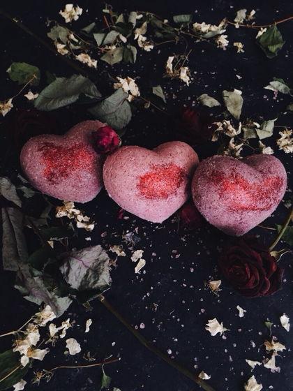 """Подарочный набор бомб для ванны """"Сочные ягоды"""""""