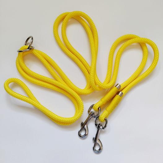 Поводок-трансформер для собак (лимон)